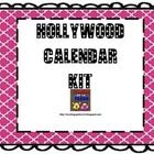 Here is a calendar kit that you can use in your Hollywood themed classroom. It includes the months of the year. It also includes the calendar numbe...