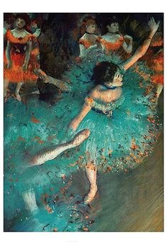 Dancer by Edgar Degas art print