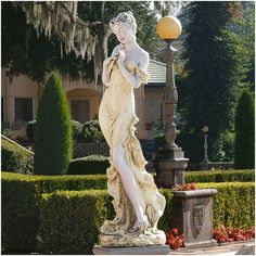 Found it at Wayfair - Thalia Muse of The Garden Oversized Statue