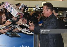 TOKYO, JAPAN - NOVEMBER Arnold Schwarzenegger attends the press conference for the Japan premiere of 'Terminator: Dark Fate' on November 2019 in Tokyo, Japan. (Photo by Jun Sato/WireImage) Japan Photo, Arnold Schwarzenegger, Tokyo Japan, Jun, Conference, November, Dark, November Born, Tokyo