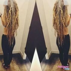 I would give anything for this hair length and dreads