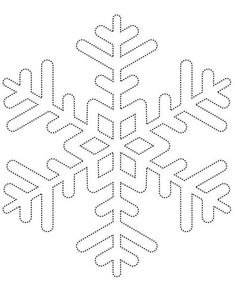 Snowflake template 1 - Free Printable Coloring Pages by aubree_hays String Art Templates, String Art Patterns, Snowflake Templates Printable, Snowflake Coloring Pages, Holiday Crafts, Christmas Crafts, Christmas Decorations, Paper Decorations, Christmas Stencils