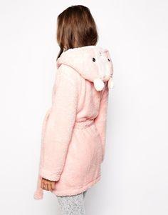 Oysho Bunny Hood Dressing Gown ASOS