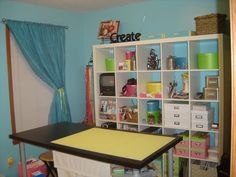 Cubbie shelving for my future craft/sewing room? I think so!