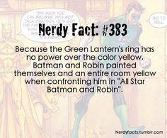 Nerdy Fact #383