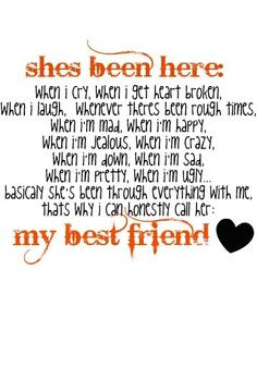My true friends Cousin Quotes, Bff Quotes, Best Friend Quotes, Cute Quotes, Friendship Quotes, Great Quotes, Quotes To Live By, Love My Best Friend, Bestest Friend