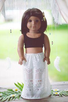 The Gwendolyn Skirt for American Girl or by EmilyHeatherDesigns, $15.00