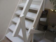Witte open trap renovatie in Maarssen - Stairz traprenovatie