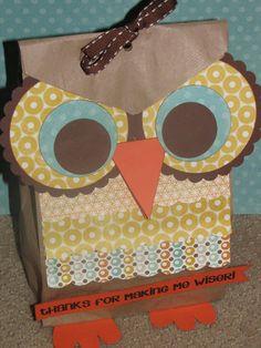 Owlie Gift Bag