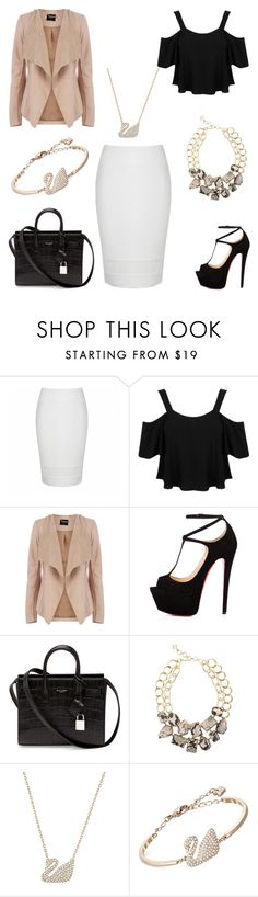 """""""Inspiration - 2017 :)"""" by daniellecvs ❤ liked on Polyvore featuring Ally Fashion, Miss Selfridge, Oasis, Talitha, Yves Saint Laurent, BCBGMAXAZRIA and Swarovski"""