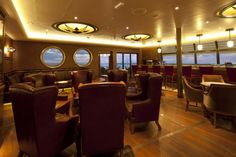 The #Meridian Bar provides a panoramic view of the ocean and offers both indoor and outdoor seating,  Peaceful and stunning, this was our favorite adults-only lounge.
