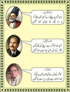 Masjid ghar hy khuda ka peeney ki jagha nahi hy allama iqbal poetry