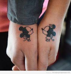 Resultado de imagen para tatuajes en pareja
