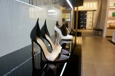 Shoe love! #shoes #heels Gaming Chair, Shoes Heels, Furniture, Home Decor, Decoration Home, Room Decor, High Heel, Home Furnishings