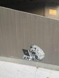 hedgehog in Helsinki