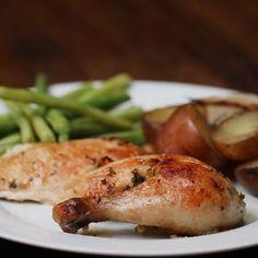Slow Cooker Chicken Dinner With Veggies