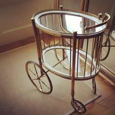oval drinks trolley - Google Search
