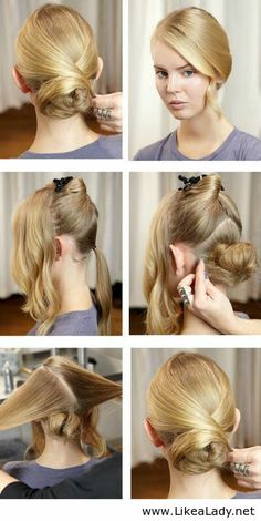 Simple hair tutorial