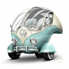 """Volkswagen """"Bubble""""  Marcelo Schultz"""