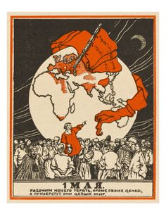 May Day Poster for the Third International