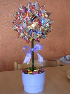 Two of Aci & # s tinkered sweetgum. I would like to have a very special … - Diy Gifts Ideas Gifts For Mum, Little Gifts, Sweet Gum, Diy Envelope, Edible Arrangements, Candy Bouquet, Edible Gifts, Chocolate Gifts, Cool Things To Make