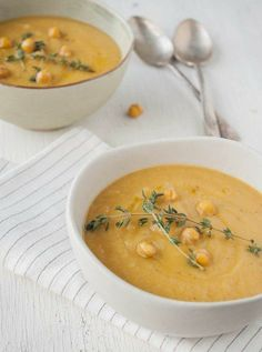 #Recipe: Spring Turnip Soup with Garlic Chickpea Croutons
