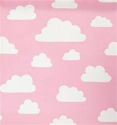 Farg Form Moln Cloud Wallpaper Pink