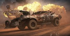 Check out the gameplay footage for the Mad Max video game