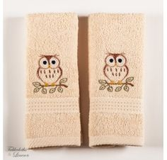 Two pieces set of cotton towels