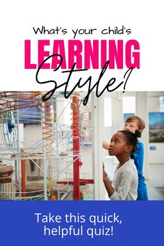 Knowing your child's learning style will help you to homeschool him much more efficiently and effectively! This quiz will help you figure out your child's learning style and teach you helpful ways to work with visual, auditory and kinesthetic learners. Learning Styles, Kids Learning, Preschool Classroom, Flipped Classroom, Kindergarten, Problem Based Learning, Homeschool Curriculum, Homeschooling Resources, Blended Learning