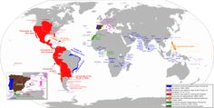 All the places Spain once controlled.