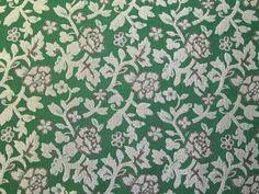 Floral Woven Metallic Brocade Dress Fabric   Fabric   Dress Fabrics   Minerva Crafts