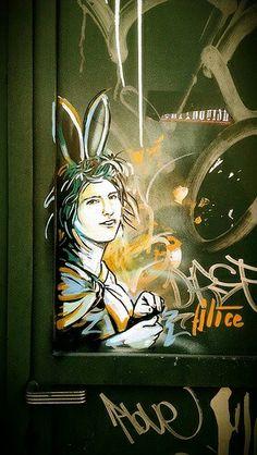 Street-wall graphic art - L'arte grafica sui muri. Street Art - Murales - Arte…