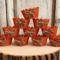 """Lavern Clarke on Instagram: """"How gorgeous are these burlap cupcake wrappers? Perfect for a rustic vintage look. Use for weddings, showers, birthdays, fall harvest…"""" Burlap Cupcakes, Cupcake Wrappers, Fall Harvest, Vintage Looks, Showers, Birthdays, Rustic, Weddings, Instagram"""