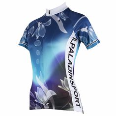 648d3b85d Ilpaladino Dripping Lilies Grace Woman s Cycling short-sleeve Jersey Suit  Kit Spring Summer Exercise Bicycling Summer Pro Cycle Clothing Racing  Apparel ...