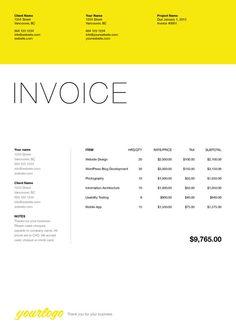 invoice description of letterhead for designer google search invoice design identity design invoice