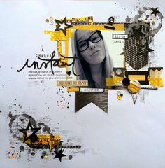It´s reveal day at Scrap & Music! The sketch today it a burst of posite energy that matches perfectly with our super op. Scrapbooking Layouts, Scrapbook Pages, Hello Ladies, You Make Me Happy, My Books, Creations, Paper Crafts, Gallery, How To Make