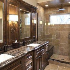 Tuscan Decorating Ideas | Tuscan bath | Home Decor & Ideas