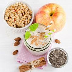 Reggeli ínyencség: almás fahéjas zabkása egy éjszaka alatt