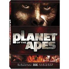 """Planet of the Apes"" starring Charlton Heston, Roddy McDowall, Kim Hunter (1968)"