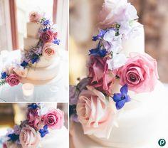 Wedding cake decorations ideas | Lulworth Castle weddings by Dorset wedding photographer Paul Underhill