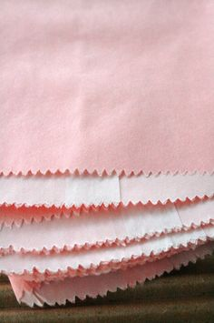 Petal Pink Glassine Lined Paper Bakery Bags