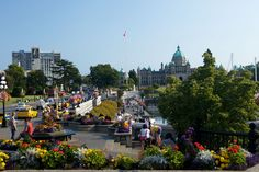 downtown Victoria, Vancouver Island, BC