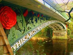 ✯ Waterloo Bridge is an early cast iron bridge, spanning the River Conwy at Betws-y-Coed, in Conwy county borough, north-west Wales.