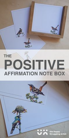 Write your own positive affirmations, or something special for a loved one. This makes for a really thoughtful, personalised gift, perfect for anyone who loves positive quotes, relishes in uplifting daily inspiration or just needs to be reminded that they are loved! #inspired #mentalhealth #giftsformom Positive Affirmations, Positive Quotes, South African Design, Beautiful Notes, Personalized Gifts, Handmade Gifts, Daily Inspiration, Note Cards, Gifts For Mom