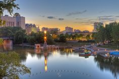 the Forks of Winnipeg ...red River and Assiniboine River.....National Historic Site