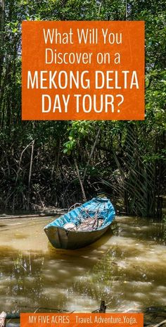 This Mekong Delta tour is the perfect way to escape the crazy streets of Saigon and immerse yourself in the exotic nature of the Mekong Delta.