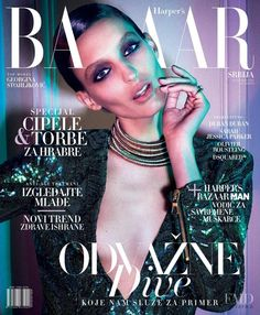 Georgina Stojiljkovic, Harper's Bazaar Magazine [Serbia] (November 2015)