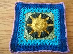 African Sun 12 inch square made for the 2012 BAMCAL