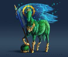 Standard-bearer_ Malachite by AlsaresLynx.deviantart.com on @DeviantArt